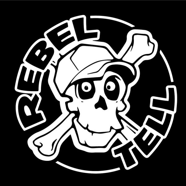 "Logo der ""Rebel Tell Band"" · © farbmeer"